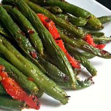 Fiery Roasted Green Beans