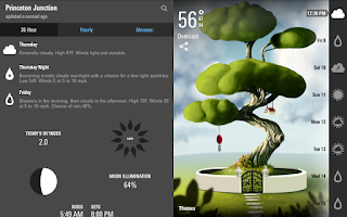 Screenshot of Weatherwise