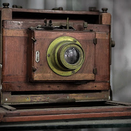 Vintage Camera by Gerard Duhau - Artistic Objects Antiques ( camera, lens, object )
