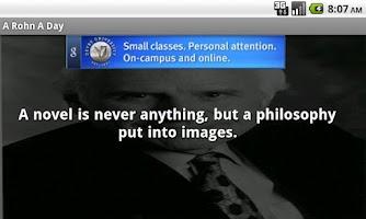 Screenshot of A Rohn A Day