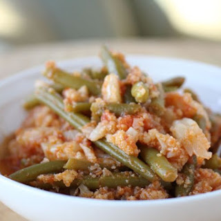 "One-Pot Italian ""Potatoes"" & Green Beans"