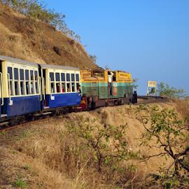 Matheran Train by Prashant Sagare - Transportation Trains