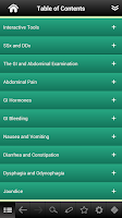 Screenshot of Gastroenterology pocket