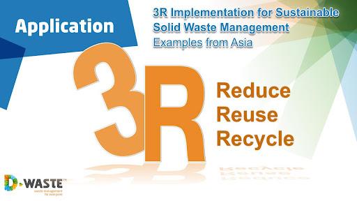3R's in waste management