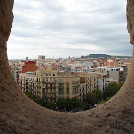 View from Sagrada Familia by Alexandra Geo - Buildings & Architecture Public & Historical