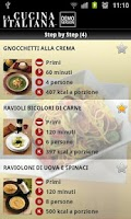 Screenshot of La Cucina Italiana - DEMO