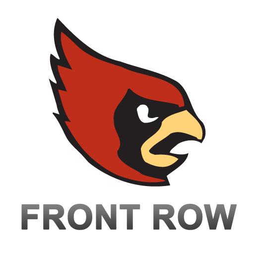 CUA Cardinals Front Row