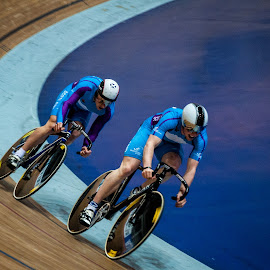 Pain train by Chris Hartley - Sports & Fitness Cycling ( #fast, #cycling, #trackcycling, #velodrome )