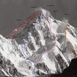 K2 Mountain Vs Everest Everest K2 News ExplorersWeb - The Big One - Summit Attempt on K2
