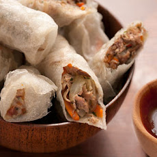 Duck Confit Fried Spring Rolls Recipe