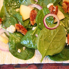 Autumn Salad with Maple Cider Vinaigrette