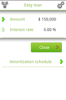 Screenshot of Easy loan