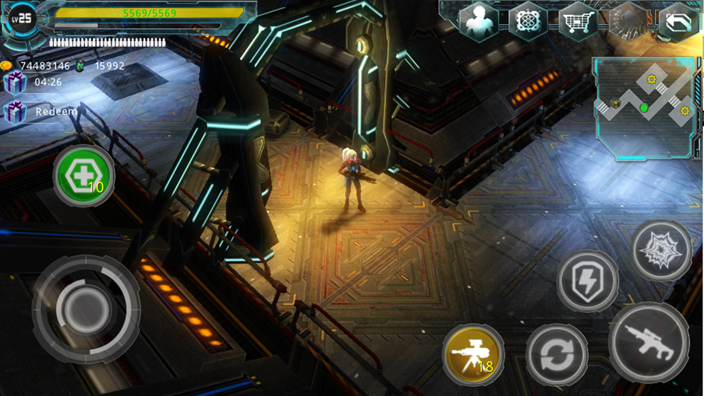 Alien Zone Plus Screenshot 0