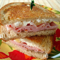 Island-Inspired Grilled Ham Sandwich