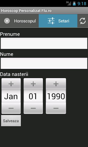 horoscop-personalizat for android screenshot