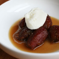 Roasted Dates with Sherry and Spices