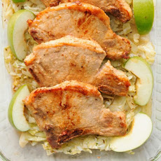 Simple Pork Chops With Apples