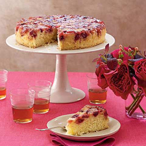 Cranberry Pumpkin Upside-down Cake Recept | Yummly