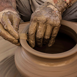 Shaping life... by Rakesh Syal - Artistic Objects Other Objects (  )