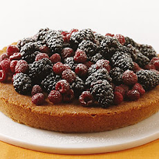 Almond Cake with Berries