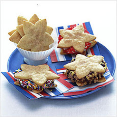 Star-Shaped Snickerdoodles