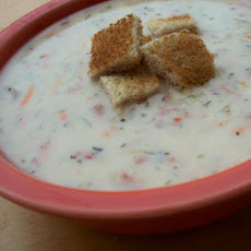 Delicious Cream of Reuben Soup