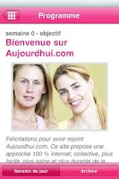 Screenshot of Aujourdhui.com