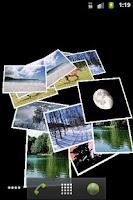 Screenshot of Falling Images Live Wallpaper