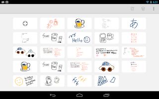 Screenshot of mindboard Draw (Free)