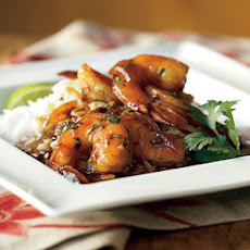 Clay Pot Shrimp
