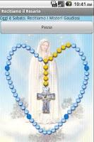 Screenshot of Recitiamo il Santo Rosario