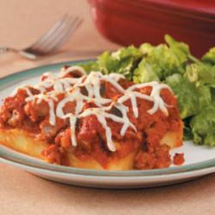 ... polenta sausage mozzarella casserole recipes dishmaps polenta sausage