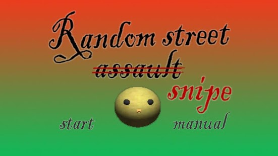 Random street snipe - screenshot