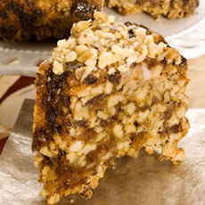 English Walnut Date Cake