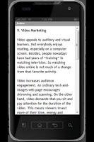 Screenshot of Marketing Strategies