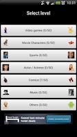 Screenshot of Characters Quiz