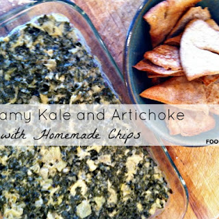 Food Babe's Creamy Kale and Artichoke Dip