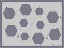 Thumbnail of the map 'Hexaggon desert'