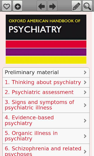 Oxford American H. Psychiatry
