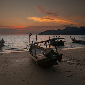 Perahu by Ariff Ismail - Transportation Boats