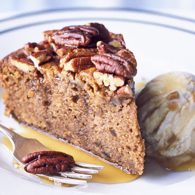 Pecan Toffee Cake