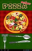 Screenshot of Pizza Maker