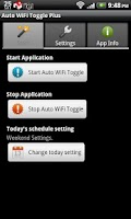 Screenshot of Auto WiFi Toggle Plus