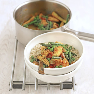 Chicken & Vegetable Stew With Wholemeal Couscous