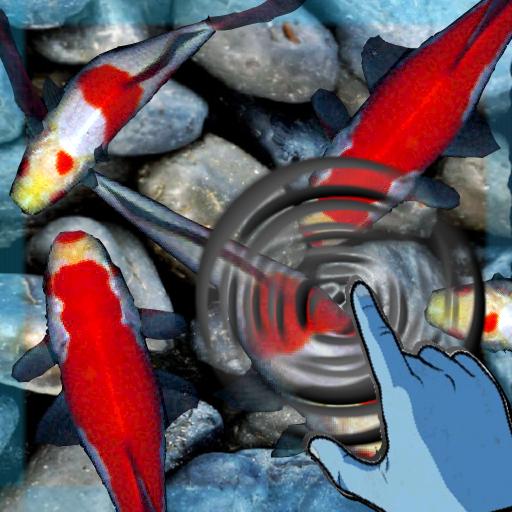 魔法的錦鯉波動觸摸HD LOGO-APP點子