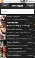Screenshot of Pinch