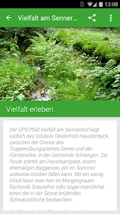 Vielfalt am Sennerand Screenshot
