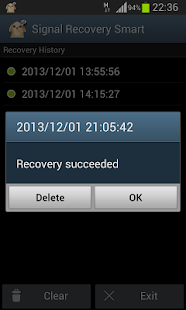 Signal Recovery Smart(pro) - screenshot