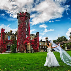 by Pete Bristo MBE  - Wedding Bride ( wedding, fotoinspir3, swinton park )