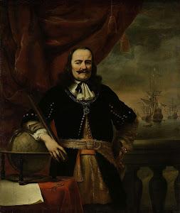 RIJKS: Ferdinand Bol: Michiel de Ruyter as Lieutenant-Admiral 1667